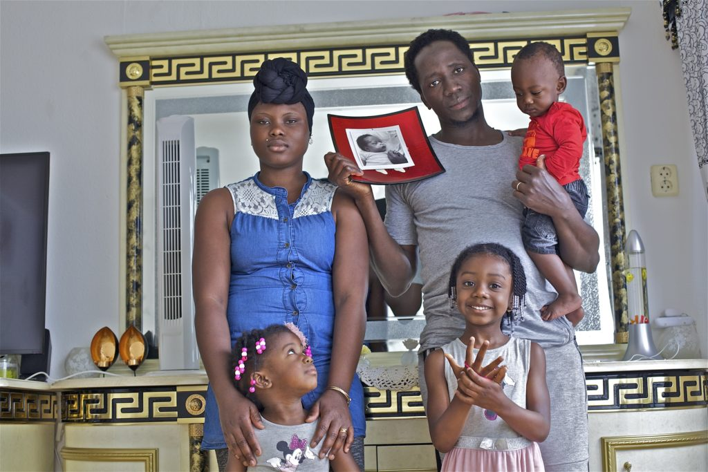 Groningen portret foto en tekst vluchtelingen gezin